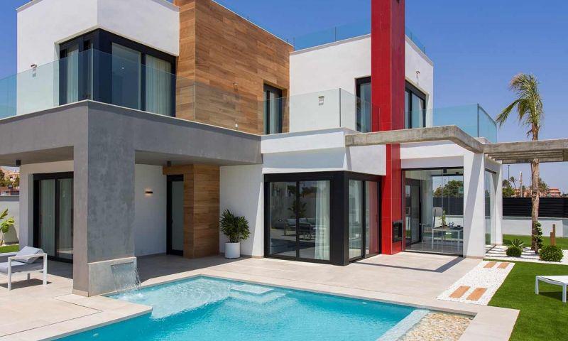 Villa nueva moderna con vistas al mar en los alcÁzares!! - imagenInmueble11