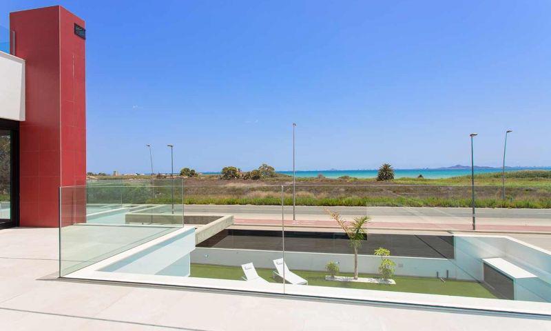 Villa nueva moderna con vistas al mar en los alcÁzares!! - imagenInmueble16