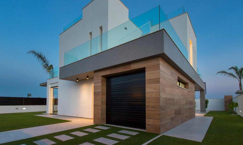 Villa nueva moderna con vistas al mar en los alcÁzares!! - imagenInmueble23
