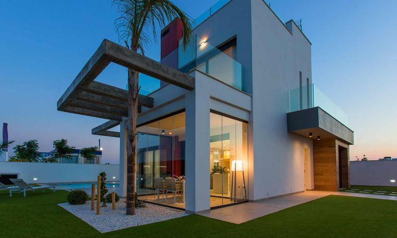 Villa nueva moderna con vistas al mar en los alcÁzares!! - imagenInmueble24