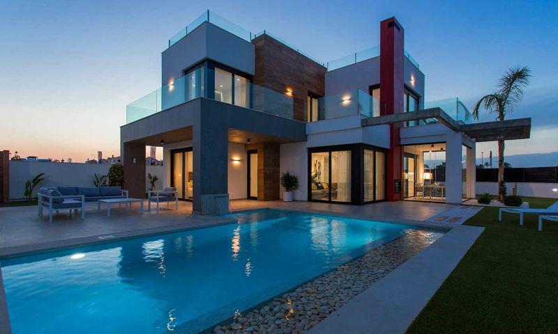 Villa nueva moderna con vistas al mar en los alcÁzares!! - imagenInmueble25