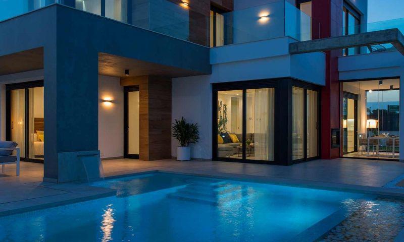 Villa nueva moderna con vistas al mar en los alcÁzares!! - imagenInmueble26