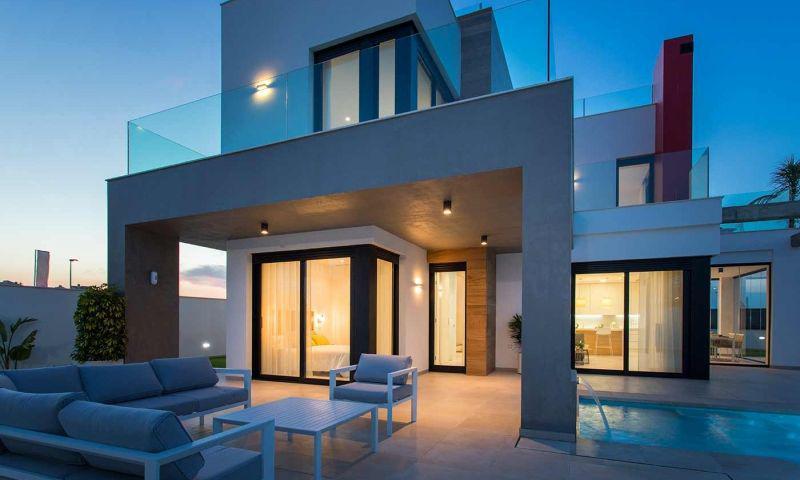 Villa nueva moderna con vistas al mar en los alcÁzares!! - imagenInmueble27