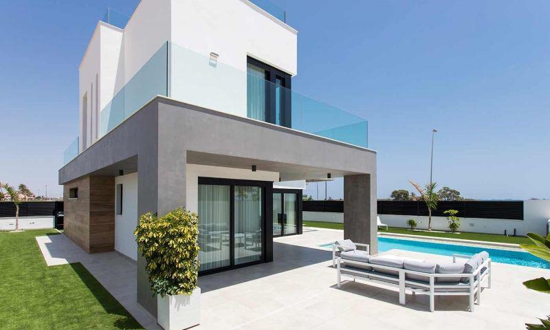 Villa nueva moderna con vistas al mar en los alcÁzares!! - imagenInmueble31