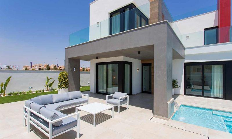 Villa nueva moderna con vistas al mar en los alcÁzares!! - imagenInmueble32