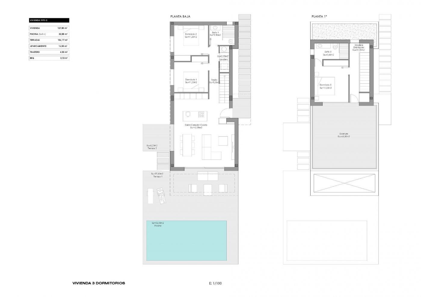 Modernas villas de obra nueva en los montesinos !!! - imagenInmueble24