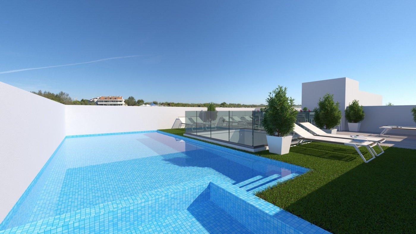 Apartamentos nuevos con piscina en cubierta a 100 m de la playa en torrevieja - imagenInmueble1