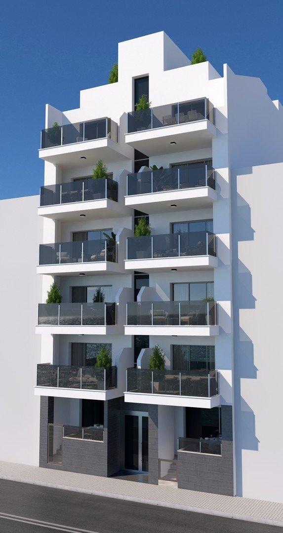 Apartamentos nuevos con piscina en cubierta a 100 m de la playa en torrevieja - imagenInmueble2