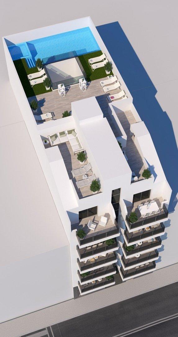 Apartamentos nuevos con piscina en cubierta a 100 m de la playa en torrevieja - imagenInmueble3