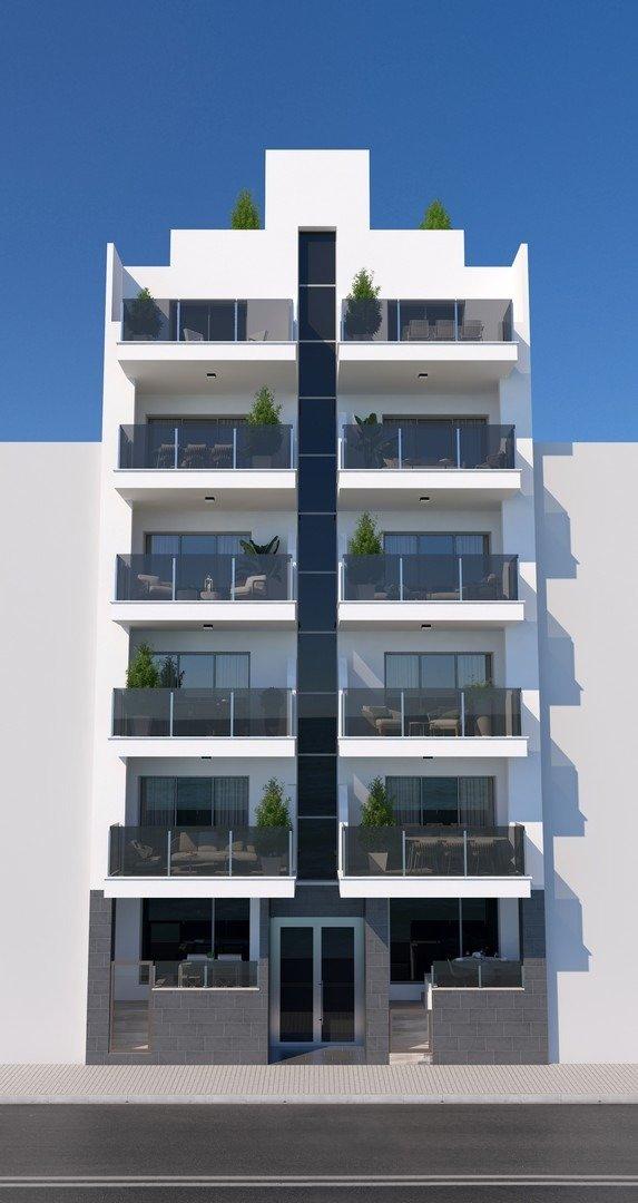 Apartamentos nuevos con piscina en cubierta a 100 m de la playa en torrevieja - imagenInmueble4