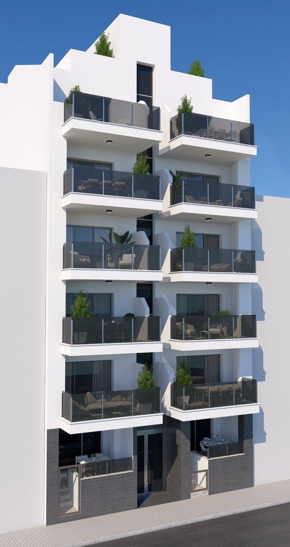 Apartamentos nuevos con piscina en cubierta a 100 m de la playa en torrevieja - imagenInmueble5