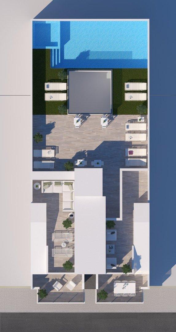 Apartamentos nuevos con piscina en cubierta a 100 m de la playa en torrevieja - imagenInmueble7