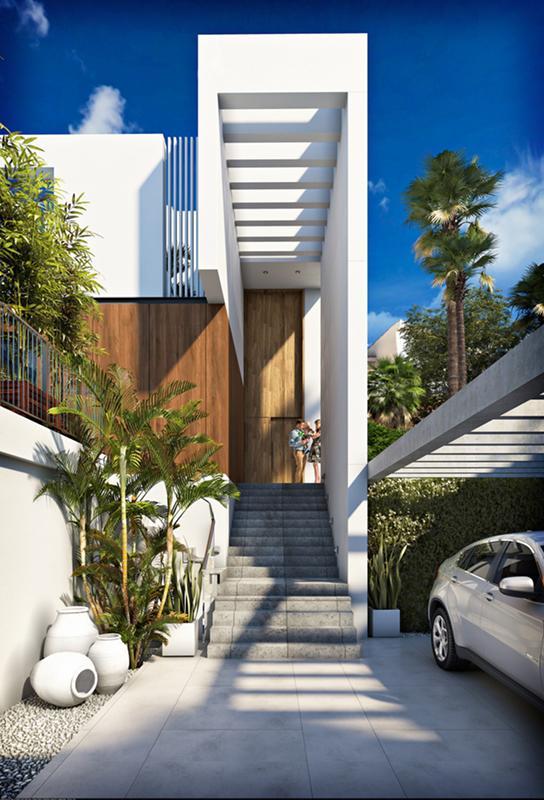 Villa moderna con vistas al mar en sierra cortina - imagenInmueble1
