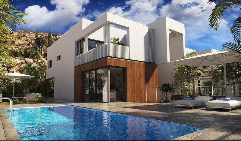 Villa moderna con vistas al mar en sierra cortina - imagenInmueble2