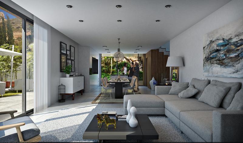 Villa moderna con vistas al mar en sierra cortina - imagenInmueble3