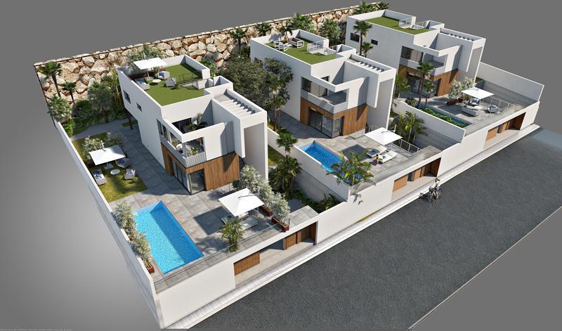 Villa moderna con vistas al mar en sierra cortina - imagenInmueble4