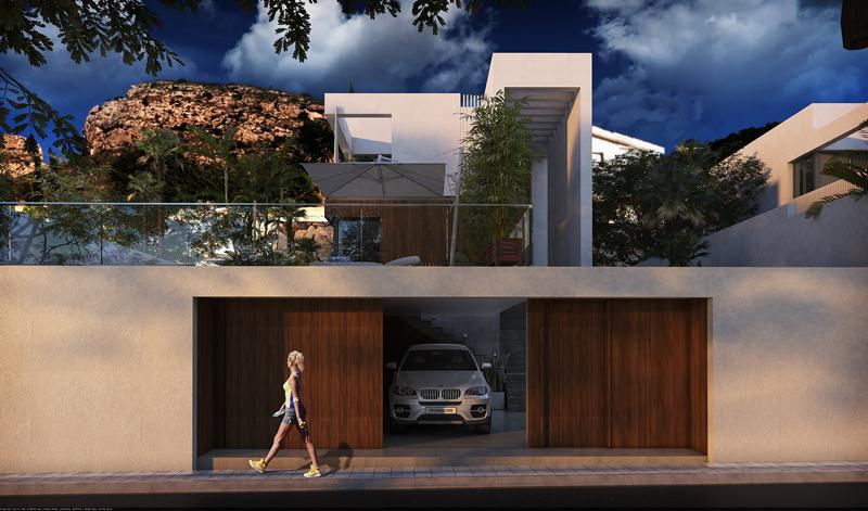 Villa moderna con vistas al mar en sierra cortina - imagenInmueble5