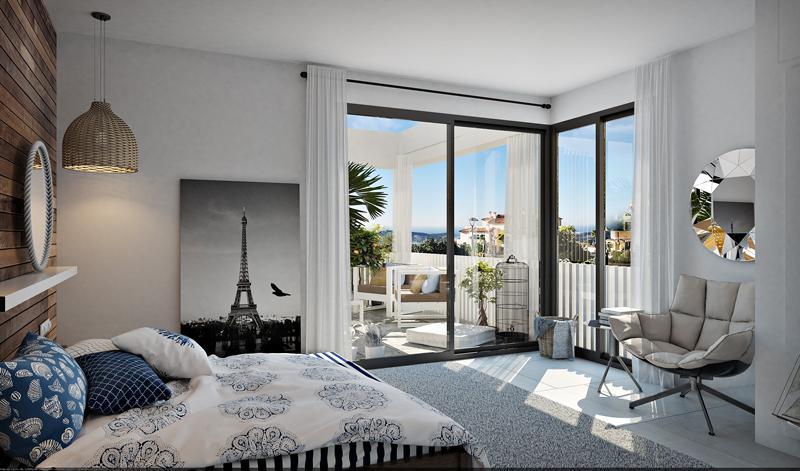 Villa moderna con vistas al mar en sierra cortina - imagenInmueble6