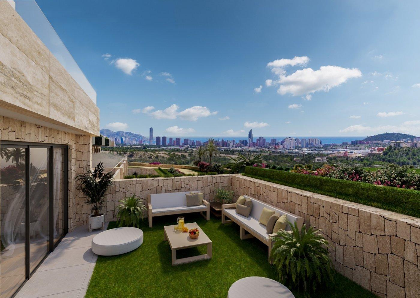 Nuevo complejo residencial en finestrat con vistas al mar!!! - imagenInmueble0