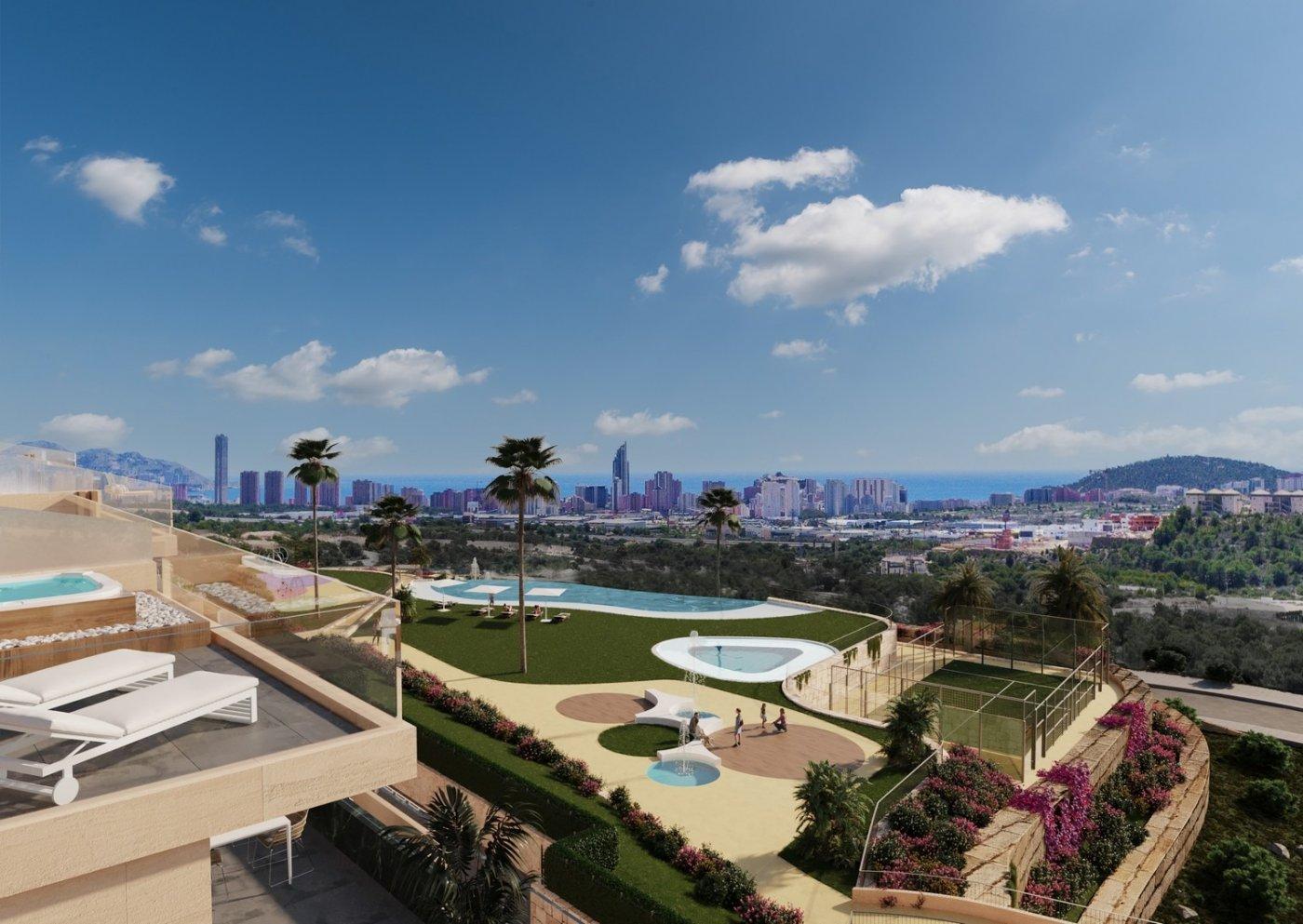 Nuevo complejo residencial en finestrat con vistas al mar!!! - imagenInmueble1