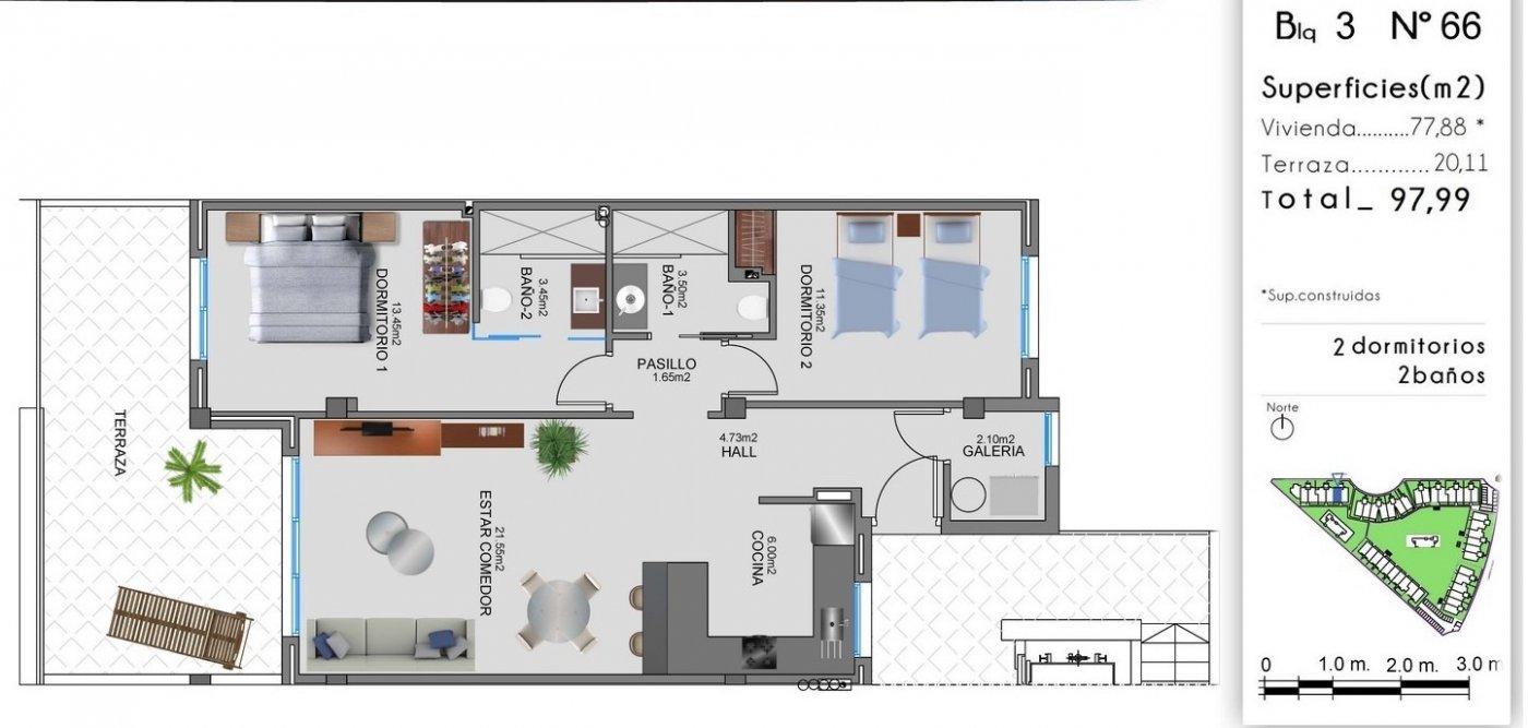 Nuevo complejo residencial en el raso (guardamar)!!! - imagenInmueble35