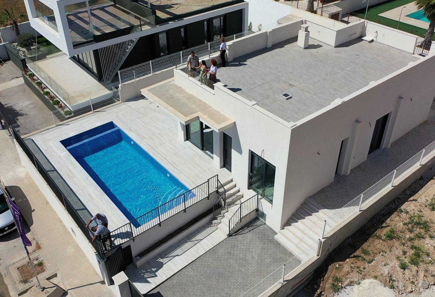 Villas de obra nueva en un nivel en polop!!! - imagenInmueble1