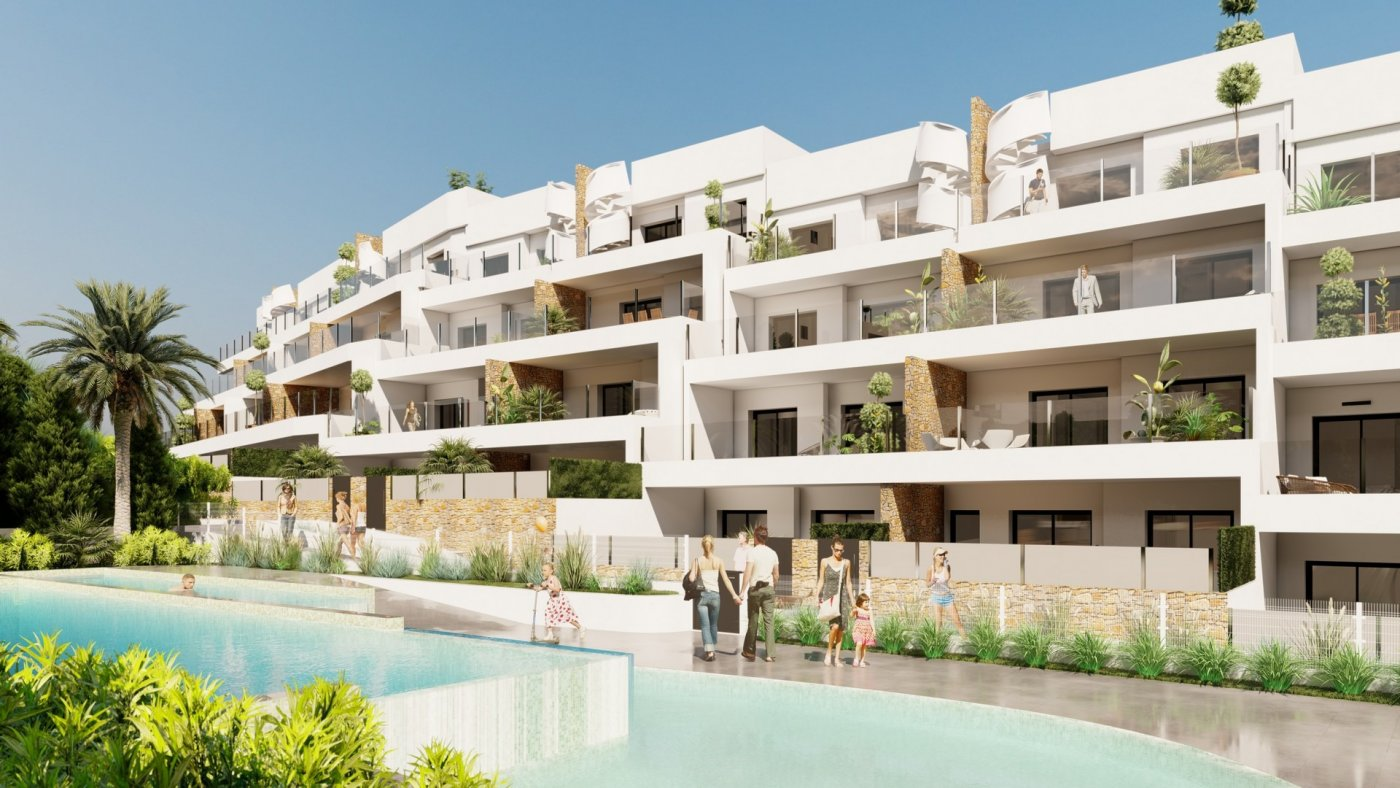 Nuevo complejo residencial con apartamentos aterrazados en orihuela costa !!! - imagenInmueble1