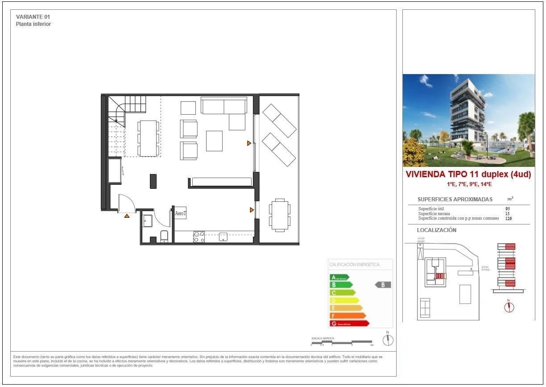 Apartamento duplex con vistas al mar en calpe - imagenInmueble18