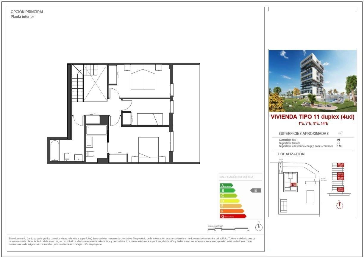 Apartamento duplex con vistas al mar en calpe - imagenInmueble19