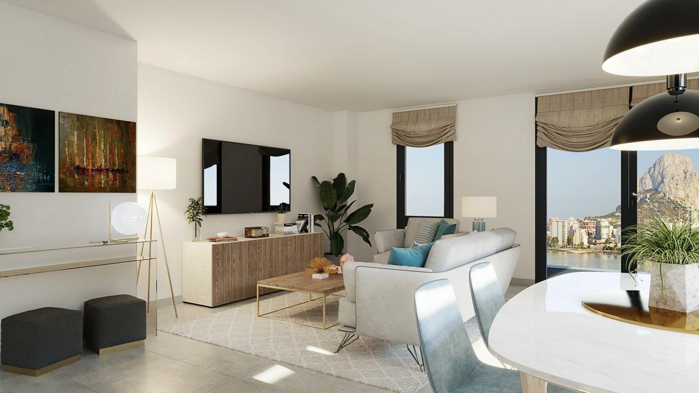 Apartamento duplex con vistas al mar en calpe - imagenInmueble4