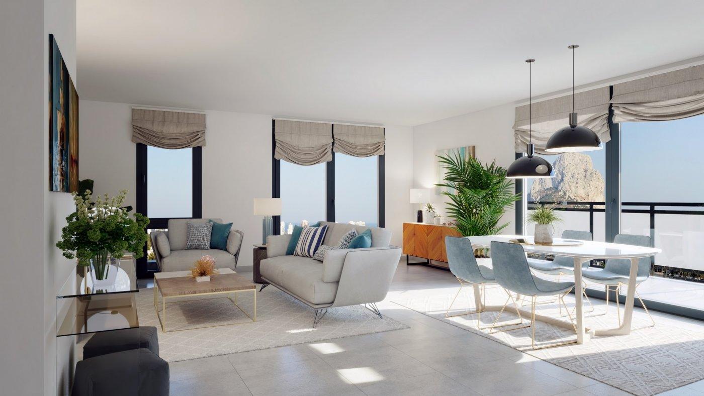 Apartamento duplex con vistas al mar en calpe - imagenInmueble5