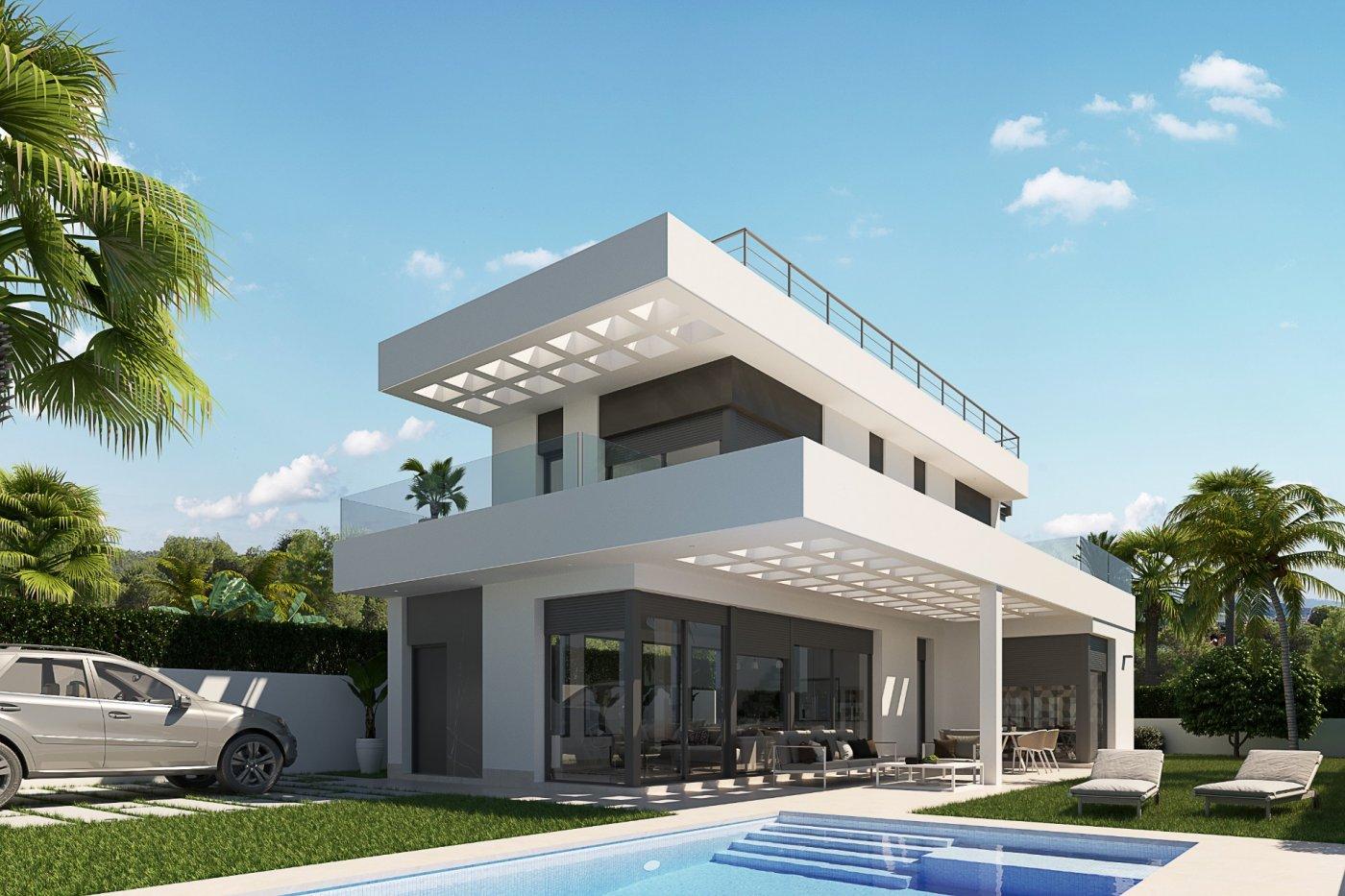 Villas modernas en sierra cortina (finestrat) a un paso de benidorm - imagenInmueble0