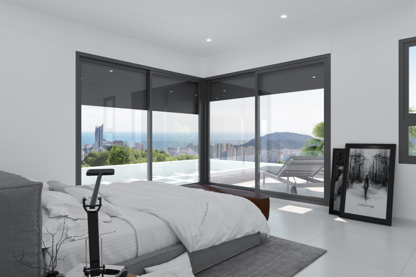 Villas modernas en sierra cortina (finestrat) a un paso de benidorm - imagenInmueble9