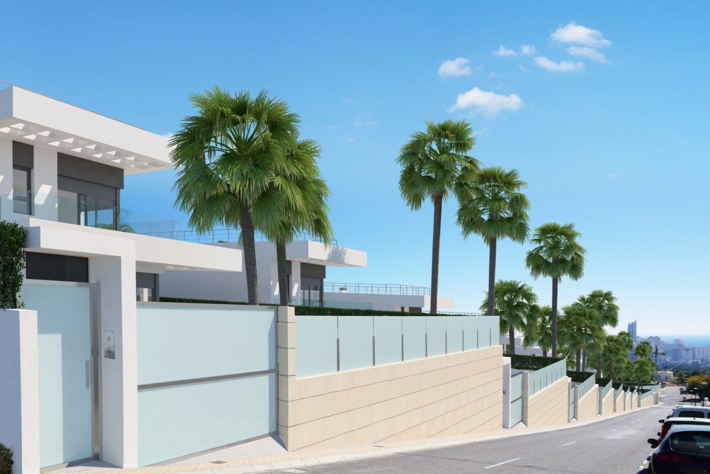 Villas modernas en sierra cortina (finestrat) a un paso de benidorm - imagenInmueble1