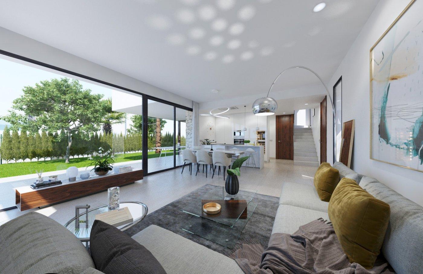 Villas de obra nueva modernas con vistas al mar en sierra cortina - imagenInmueble9