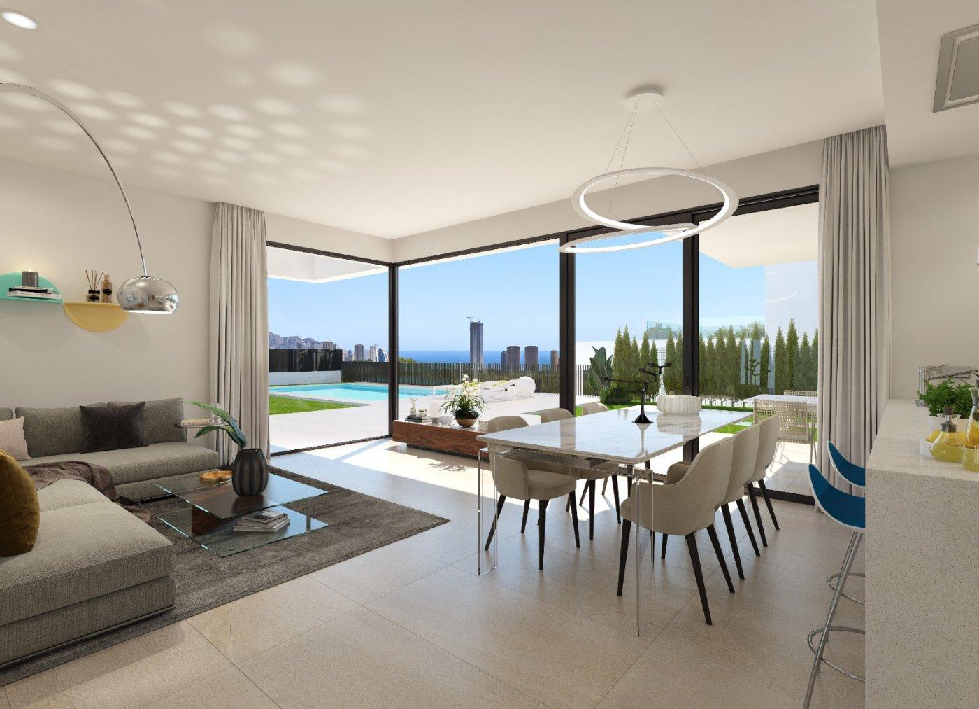 Villas de obra nueva modernas con vistas al mar en sierra cortina - imagenInmueble10