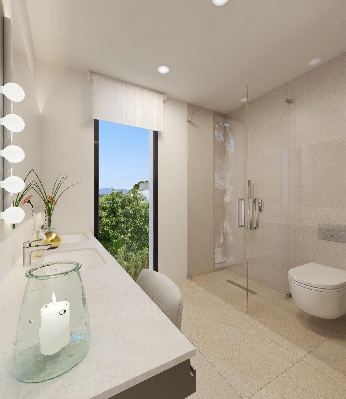 Villas de obra nueva modernas con vistas al mar en sierra cortina - imagenInmueble14