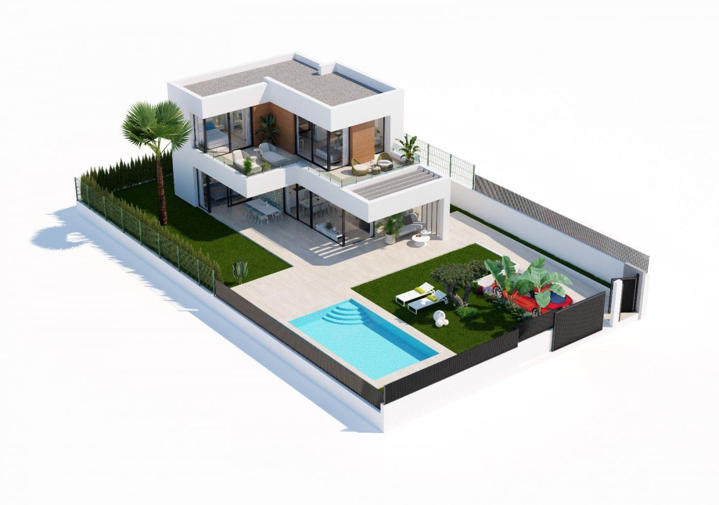 Villas de obra nueva modernas con vistas al mar en sierra cortina - imagenInmueble17