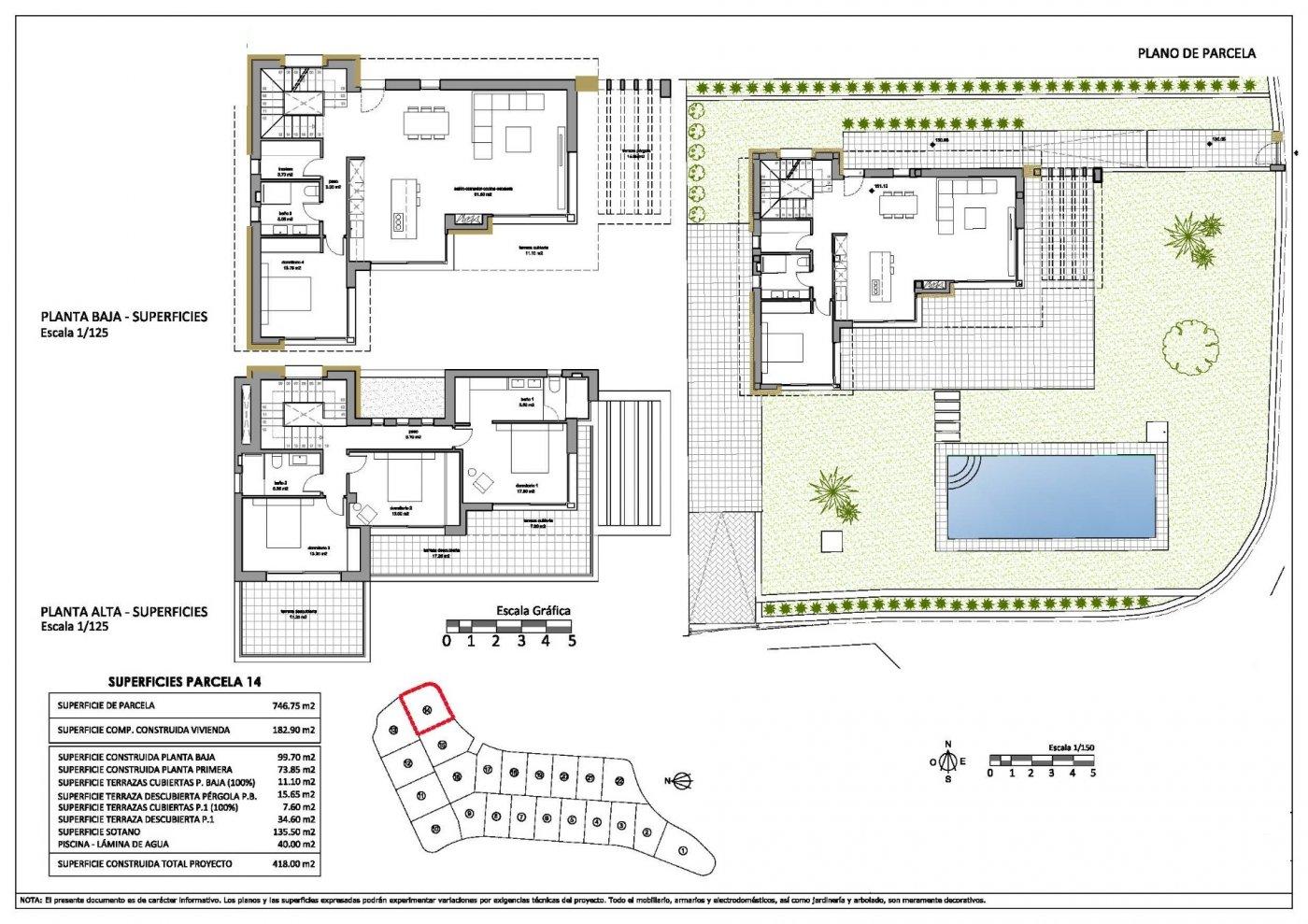 Villas de obra nueva modernas con vistas al mar en sierra cortina - imagenInmueble18