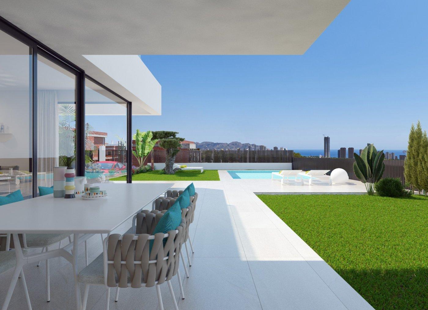 Villas de obra nueva modernas con vistas al mar en sierra cortina - imagenInmueble1