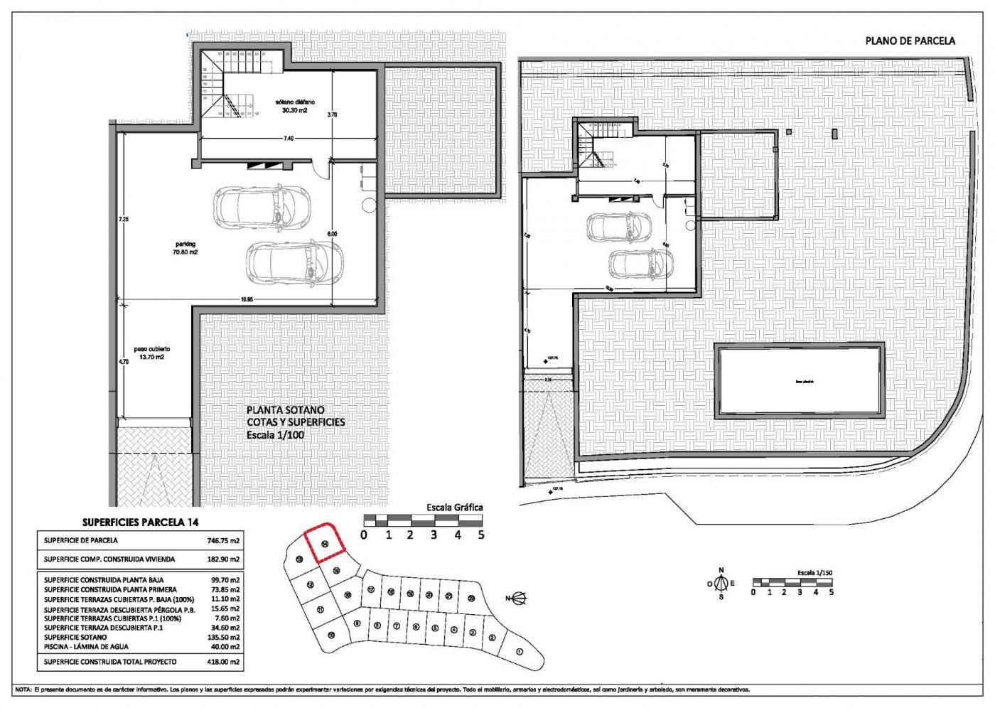 Villas de obra nueva modernas con vistas al mar en sierra cortina - imagenInmueble19