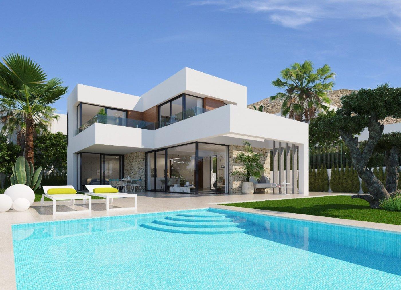 Villas de obra nueva modernas con vistas al mar en sierra cortina - imagenInmueble2