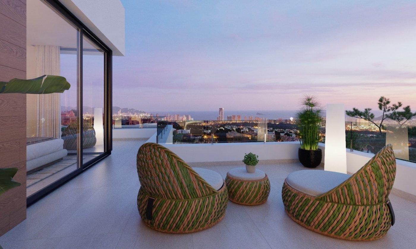Villas de obra nueva modernas con vistas al mar en sierra cortina - imagenInmueble3