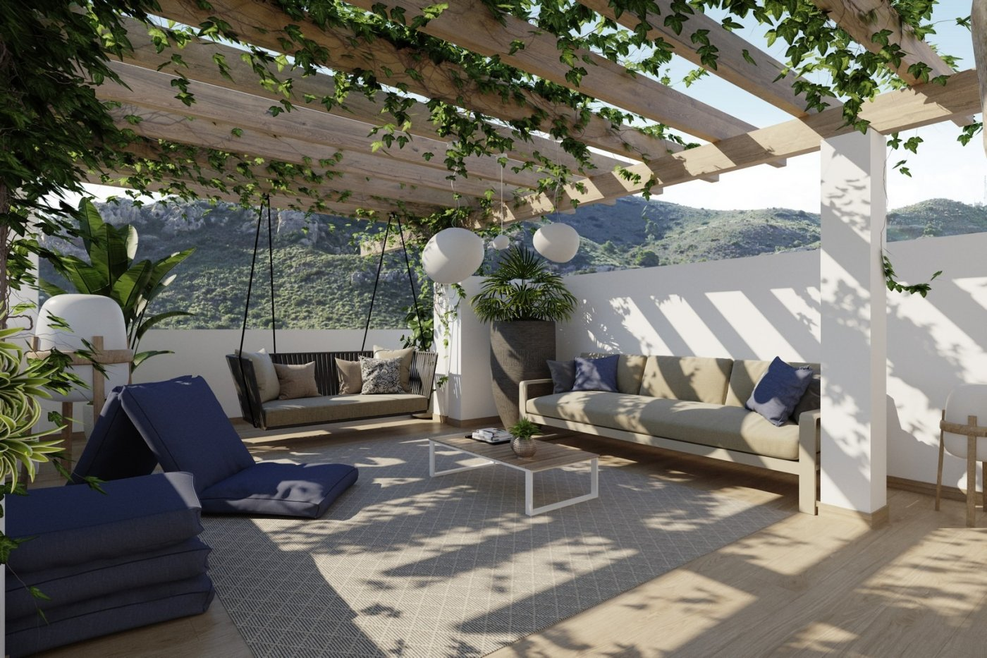 Bungalow planta alta con solarium privado en campo golf font del llop - imagenInmueble0
