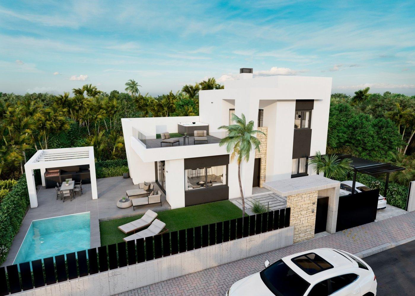 Villas de obra nueva modernas a 900 m del mar!!! - imagenInmueble1