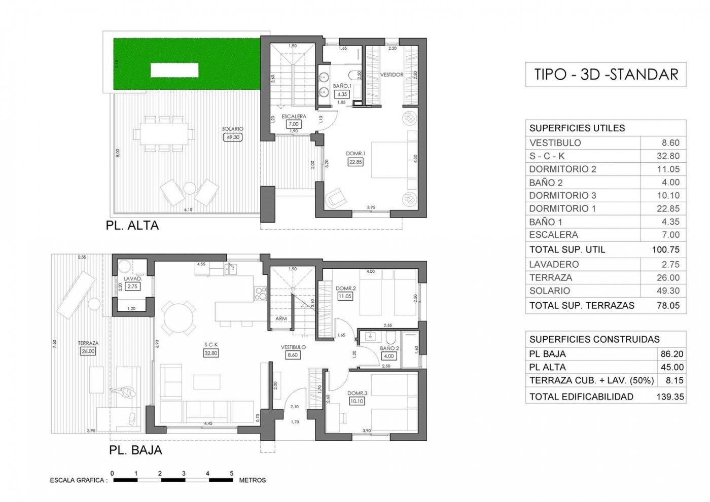 Villas de obra nueva modernas a 900 m del mar!!! - imagenInmueble8