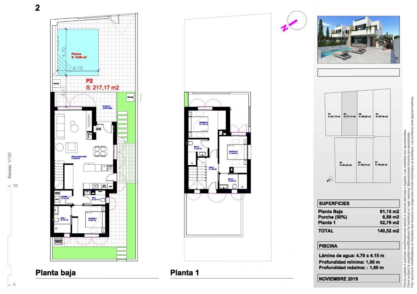 Villas independientes y semi adosadas de obra nueva en el típico pueblo de daya nueva. - imagenInmueble9