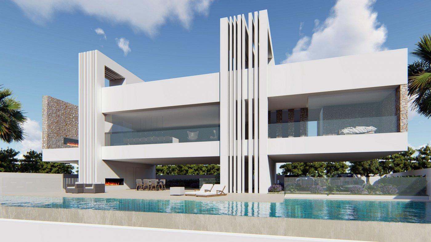 Villa de diseño única y exclusiva  con vistas a guardamar y al mar. - imagenInmueble0
