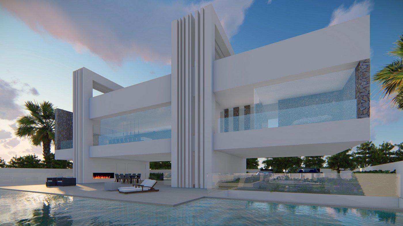 Villa de diseño única y exclusiva  con vistas a guardamar y al mar. - imagenInmueble3