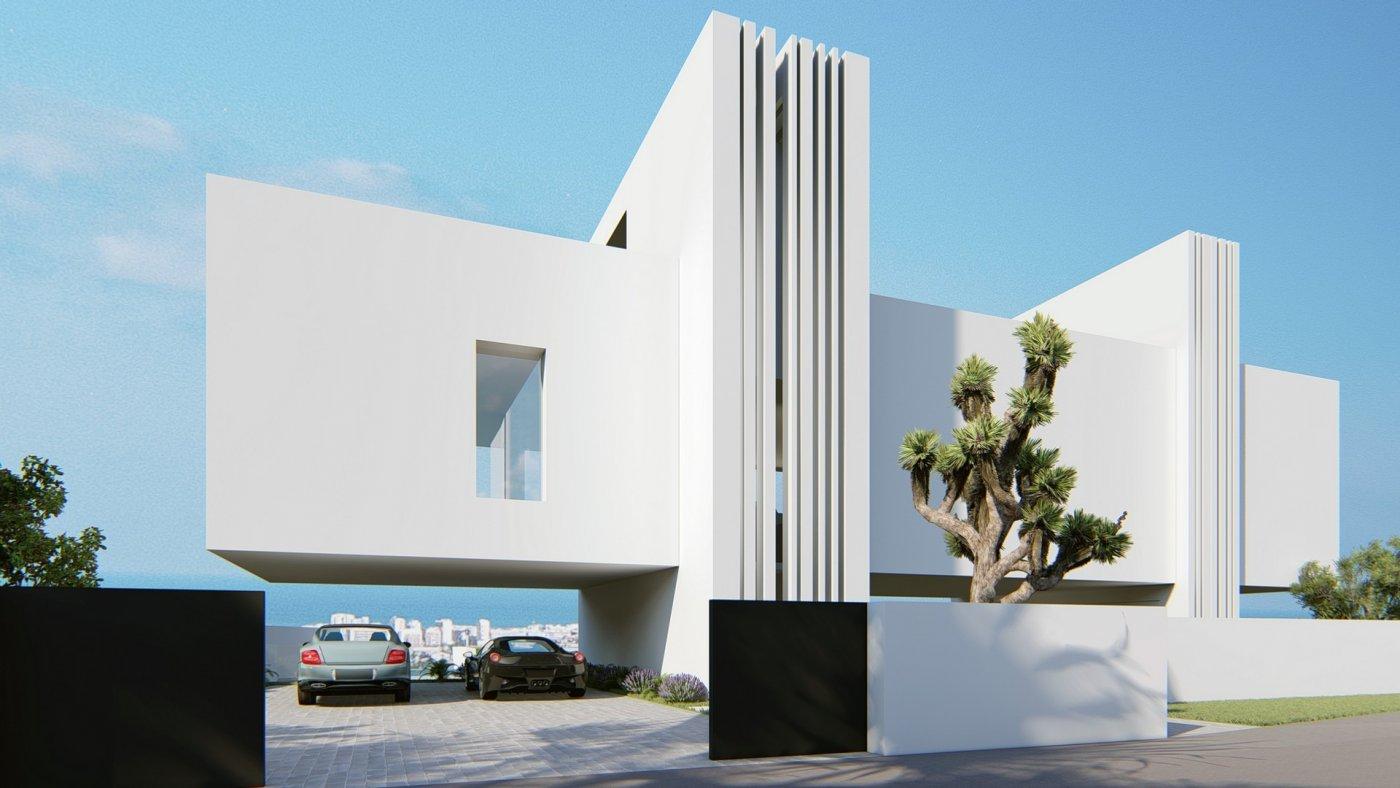 Villa de diseño única y exclusiva  con vistas a guardamar y al mar. - imagenInmueble4